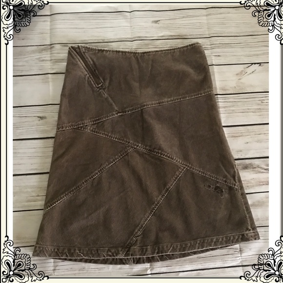 64adec946 Billabong Skirts | Brown Skirt Size 1 | Poshmark